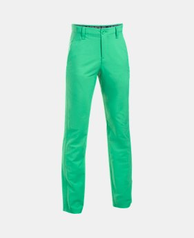 언더아머 UA 보이즈 UA 바지 Under Armour Boys UA Match Play Pants,Jade (1290353-317)