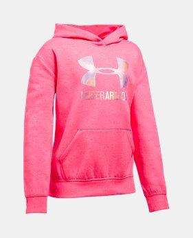 언더아머 Under Armour Girls UA Threadborne Fleece Hoodie