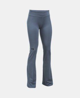 언더아머 Under Armour Girls UA Elevated Training Flare Pants,APOLLO GRAY (1299942-962)