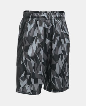 언더아머 UA 보이즈 UA 반바지 Under Armour Boys UA Stunt Printed Shorts