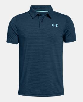 언더아머 Under Armour Boys UA Threadborne Polo