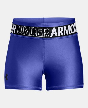 언더아머 걸즈 반바지 Under Armour Girls HeatGear Armour Shorty