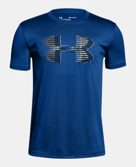 언더아머 Under Armour Boys UA Tech Big Logo Solid T-Shirt