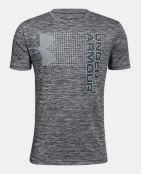 언더아머 Under Armour Boys UA Crossfade T-Shirt