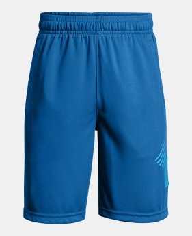 언더아머 UA 보이즈 UA 반바지 Under Armour Boys UA Renegade Solid Shorts