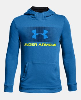 언더아머 Under Armour Boys UA French Terry Hoodie