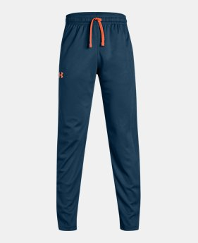 언더아머 Under Armour Boys UA Tech Pants,Techno Teal (1309308-489)