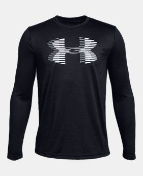 언더아머 Under Armour Boys UA Tech Big Logo Long Sleeve