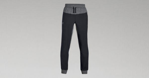 UA Woven Warm-Up Joggers | Tuggl