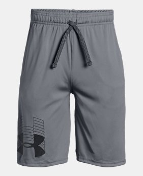 언더아머 UA 보이즈 UA 반바지 Under Armour Boys UA Prototype Logo Shorts