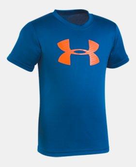언더아머 남아용 반팔 티셔츠 Under Armour Boys' Pre-School UA Big Logo T-Shirt