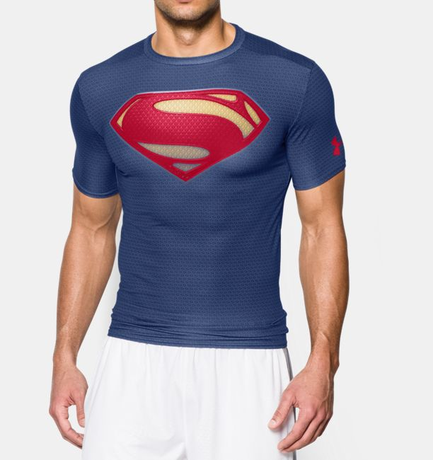 Men s under armour alter ego short sleeve compression for Under armour half sleeve shirt