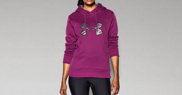newest 829f3 36e05 Women s UA Big Logo Applique Hoodie   Under Armour CA