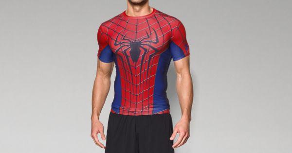 Men S Under Armour Alter Ego Spider Man Compression Shirt Us