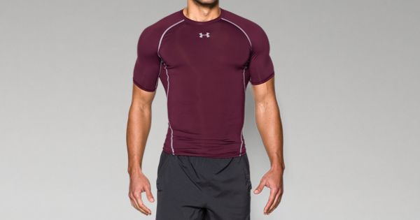 31e3e334ee2 Men s UA HeatGear® Armour Short Sleeve Compression Shirt