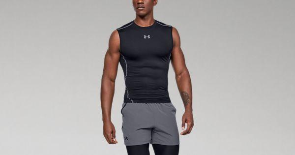 b8e6e643d97 Men s UA HeatGear® Armour Sleeveless Compression Shirt