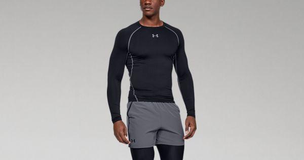 dd025ac2 Men's UA HeatGear® Armour Long Sleeve Compression Shirt   Under Armour CA
