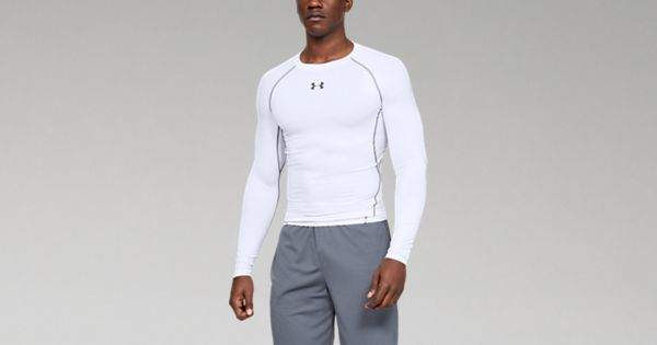 Graphite//White Small Under Armour Womens CoolSwitch Long Sleeve Top