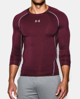 언더아머 UA 컴프레션 긴팔 Underarmour Mens UA HeatGear Armour Long Sleeve Compression Shirt