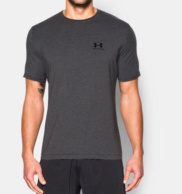 Men 39 s ua charged cotton sportstyle t shirt under armour us for Under armour charged cotton shirts mens