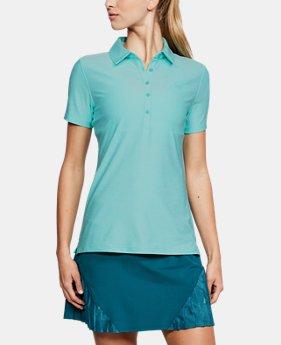 언더아머 여성 골프의류 UA Zinger 폴로 반팔티 트로피컬, Womens UA Zinger Short Sleeve Polo