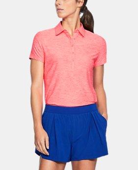 언더아머 여성 골프의류 UA Zinger 폴로 반팔티 브릴리언스, Womens UA Zinger Short Sleeve Polo