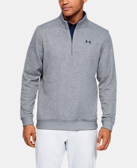 언더아머 골프웨어 남성 플리스 집업 Under Armour Mens UA Storm SweaterFleece ¼ Zip