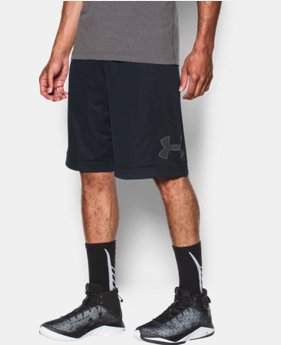 언더아머 UA Under Armour Mens UA Isolation Basketball Shorts