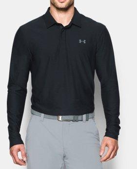 언더아머 골프웨어 플레이오프 폴로 긴팔 티셔츠 Under Armour Mens UA Playoff Long Sleeve Polo