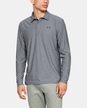 언더아머 Under Armour Mens UA Playoff Long Sleeve Polo
