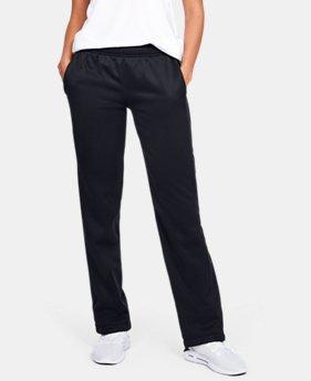 언더아머 우먼 UA 더블 트릿 아머 플리스 팬츠 - 4 컬러 Under Armour Womens UA Double Threat Armour Fleece Pants