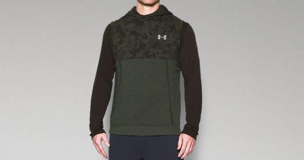 d05f3755076bd Men s UA Threadborne™ Fleece Sleeveless Hoodie