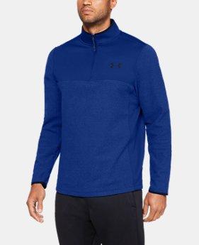 언더아머 UA Under Armour Mens ColdGear Infrared Fleece ¼ Zip