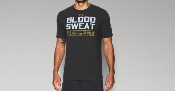 7afa2c92 Men's UA x Project Rock Blood Sweat Respect T-Shirt | Under Armour US