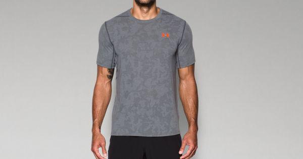 2d977b4e6b9 Men's UA Threadborne™ Elite Fitted Shorts Sleeve   Under Armour US