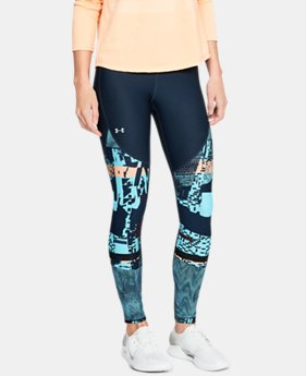 언더아머 레깅스 Under Armour Womens UA Vanish Printed Leggings