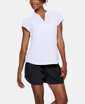 언더아머 Underarmour Womens UA Threadborne Printed Short Sleeve