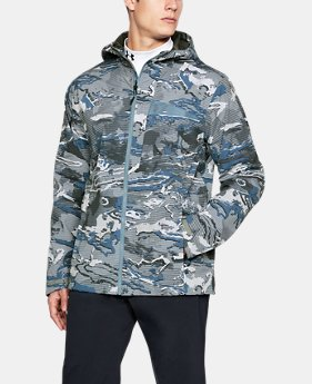 언더아머 Under Armour Mens UA Trektic Jacket,BASS BLUE (1306194-588)