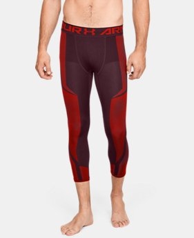 언더아머 UA Under Armour Mens UA Seamless ¾ Leggings