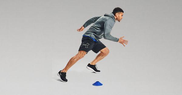 UAS-10 Under Armour Men/'s  Loose Fit Run Training Gym Shorts