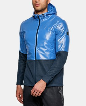 언더아머 UA UA 윈드브레이커 자켓 Under Armour Mens UA Hybrid Windbreaker