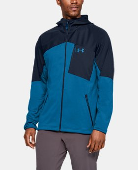 언더아머 Under Armour Mens UA ColdGear Reactor Fleece Hoodie