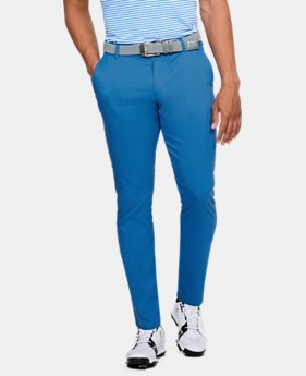 언더아머 UA Under Armour Mens UA Showdown Tapered Pants,Mediterranean (1309546-437)