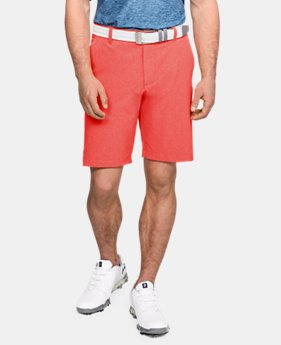 언더아머 UA Under Armour Mens UA Showdown Vented Shorts,Vermilion (1309551-872)