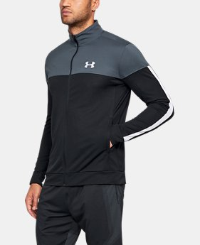 언더아머 Under Armour Mens UA Sportstyle Pique Jacket