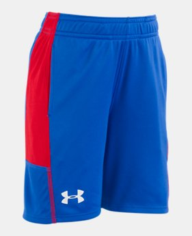 언더아머 UA 남아용 반바지 Under Armour Boys Pre-School UA Stunt Shorts,ULTRA BLUE (1316444-908)