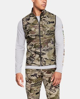 언더아머 UA Zephyr 플리스 조끼 Under Armour Mens UA Zephyr Fleece Camo Vest