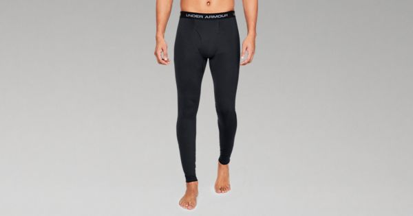 UA Coldgear Reactor Tactical Fitted Leggings Coyote Brown
