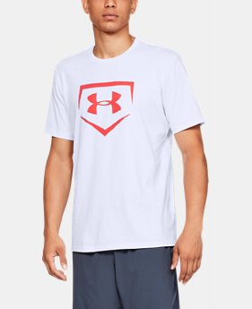 언더아머 UA 아이콘 반팔 티셔츠 Under Armour Mens UA Plate Icon Short Sleeve Shirt