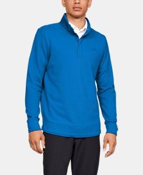 언더아머 골프웨어 Under Armour Mens UA Storm SweaterFleece Snap Mock